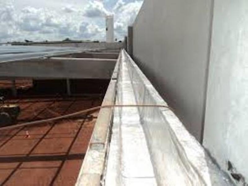 Aplicação de Impermeabilização Calha Concreto Lindolfo Collor - Impermeabilização Calha em Concreto