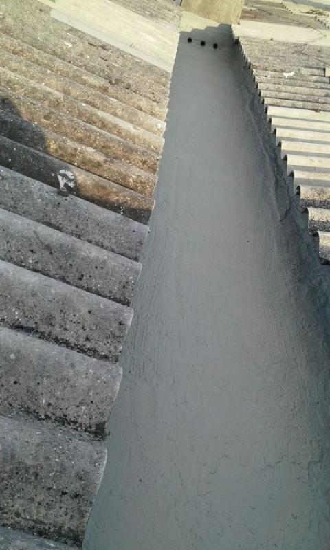 Aplicação de Impermeabilização de Calha Tipo Concreto IMBÉ - Impermeabilização Calha Concreto