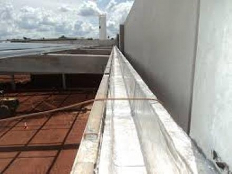 Empresa de Impermeabilização em Calha de Concreto Esteio - Impermeabilização Calha de Concreto