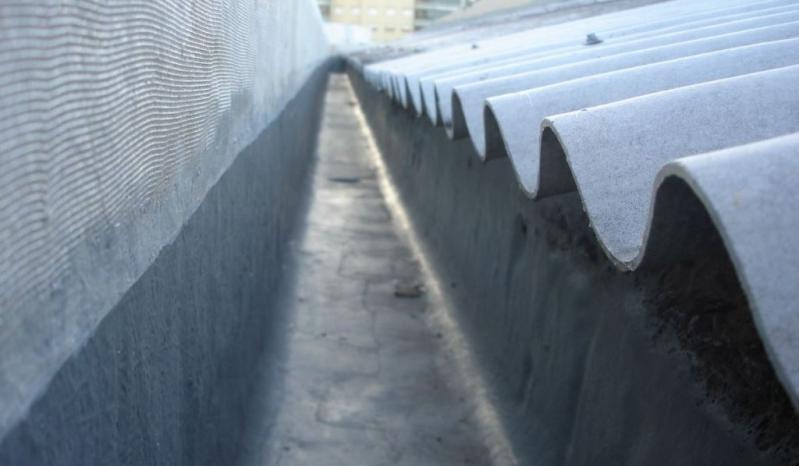Impermeabilização de Calha Feita de Concreto Eldorado do Sul - Impermeabilização de Calha de Concreto