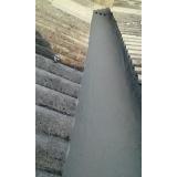 aplicação de impermeabilização calha em concreto Araricá