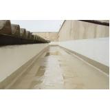 aplicação de impermeabilização em calha de concreto Campo bom