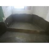 cotação de impermeabilização piso banheiro Feliz