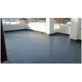 custo de impermeabilização piso de terraço Taquara