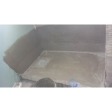 custo para impermeabilização banheiro laje Brochier