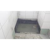 impermeabilização de banheiro com manta asfáltica Carlos Barbosa