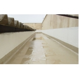 impermeabilização de calha de concreto