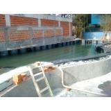 impermeabilização de piscina de alvenaria Triunfo