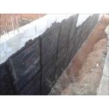impermeabilização muro divisa Brochier
