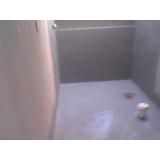Impermeabilização de Box em Banheiro