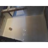 impermeabilização piso de box Canela