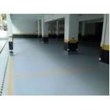 impermeabilização piso garagem Nova Hartz