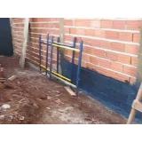 onde fazer impermeabilização parede Fazenda Vilanova