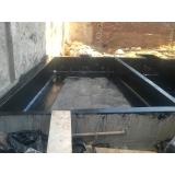 serviço de impermeabilização de piscina de alvenaria Mariana Pimentel