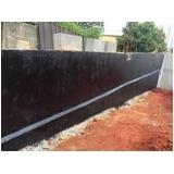 serviço de impermeabilização em muro Harmonia