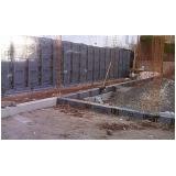 serviço de impermeabilização muro arrimo Canoas