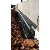 serviço de impermeabilização muro de contenção Sertão Santana