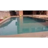 serviço de impermeabilização piscina concreto Linha Nova